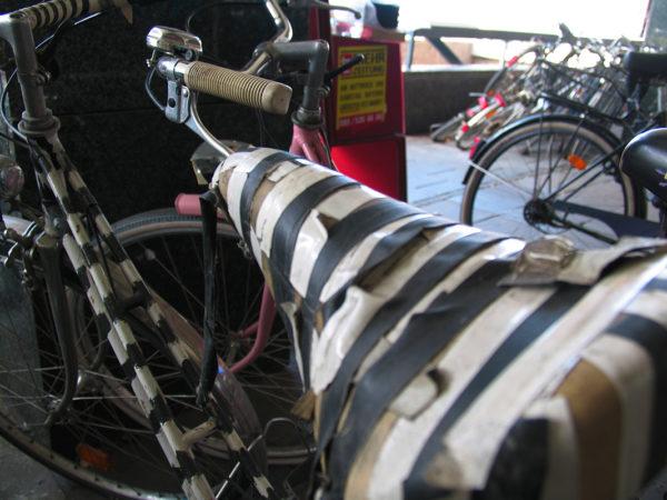 Black and White Bike