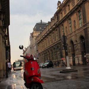 Wet City Street