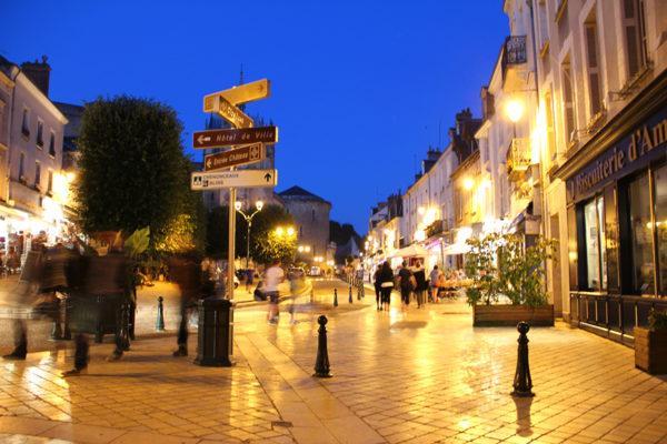 European Street at Night II